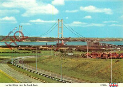 £2.19 • Buy Picture Postcard:;Humber Bridge From The South Bank