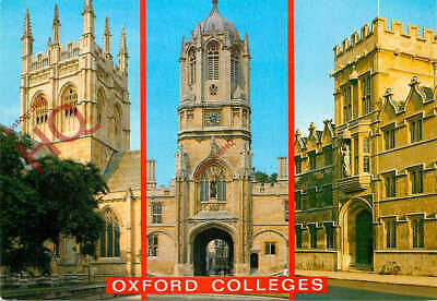 £2.69 • Buy Picture Postcard, Oxford Colleges (Multiview) Merton, Christ Church, University