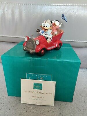£175 • Buy Walt Disney Classic Collection WDCC 'Family Vacation' Donald & Daisy Duck