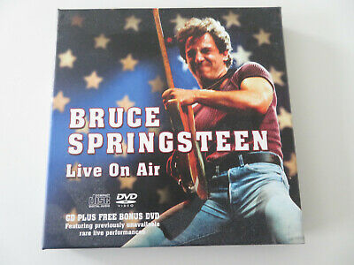 £5.50 • Buy Bruce Springsteen CD+DVD. Live On Air. Mint Condition.