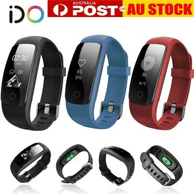 AU18.99 • Buy IOS Android Fitness Smart Watch Activity Tracker WomenMen Kids Fitbit Heart Rate