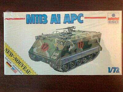 $13.99 • Buy ESCI M113 A1 APC US Army Armored Personnel Carrier 1/72 Scale Model Kit NIB