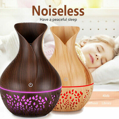 AU21.90 • Buy Aroma Air Diffuser Essential Oil LED Ultrasonic Aromatherapy Humidifier Purifier