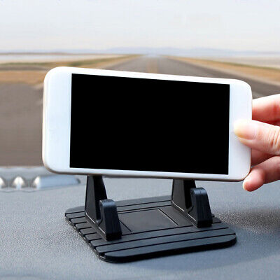 £5.67 • Buy Black Car Dashboard Non-slip Mat Rubber Mount Holder Pad Phone Stand Accessories