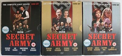 £24.99 • Buy DVD R2 - BBC SECRET ARMY The Complete First Second & Third Series - Preowned