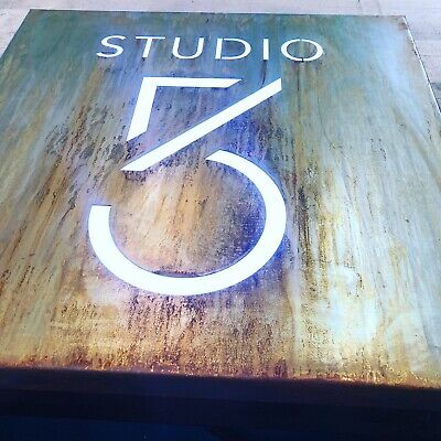 £162.03 • Buy Illuminated LED Rusted Steel House Mail Box Signs Plaques Custom Made Laser Cut