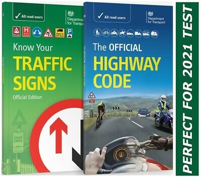 £9.48 • Buy DVSA Official Highway Code & Know Your Traffic Signs Paperback 2021