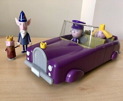 £9.99 • Buy Ben & Holly Nanny Plums Royal Car & King & Wise Old Elf Figures