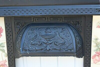£95 • Buy Victorian Style Cast Iron Fireplace Fire Surround