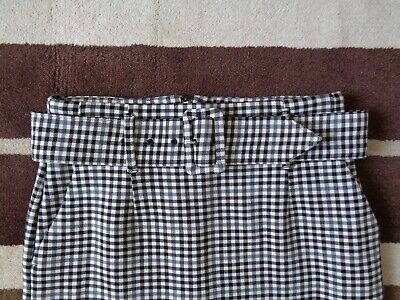£9.99 • Buy M&S Marks & Spencer PENCIL SKIRT. Check. Black/White. SIZE 12. Excellent Cond