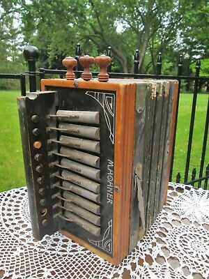 $125 • Buy Art Deco Antique M Hohner Accordion Best Made Germany For Restoration / Display