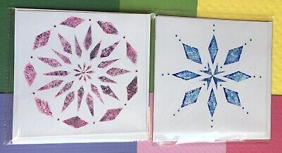 £4.95 • Buy Original Hand Painted Cards X2,Beautiful Detail,Exc Quality,For All Occasions.