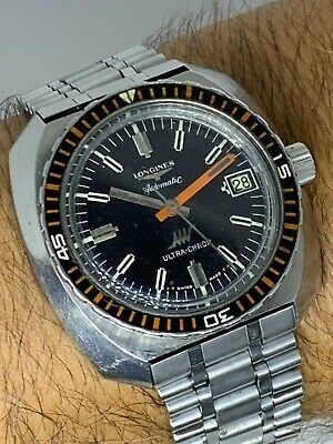£1473.02 • Buy Vintage LONGINES Ultra-Chron REF 7970-1 AUTOMATIC DIVER WATCH FROM  1969