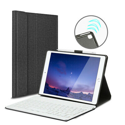 AU33.23 • Buy AU For IPad 7th Gen 10.2in 2019 Bluetooth Keyboard Case Cover With Pencil Holder