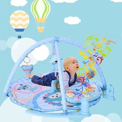 £23.15 • Buy 3in1 Baby Gym Floor Play Mat Musical Activity Center Kick And Play Piano Toy UK