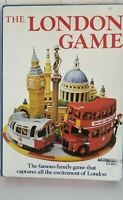 £12.99 • Buy Bambola Toys The London Game - Vintage 1972 Board Game