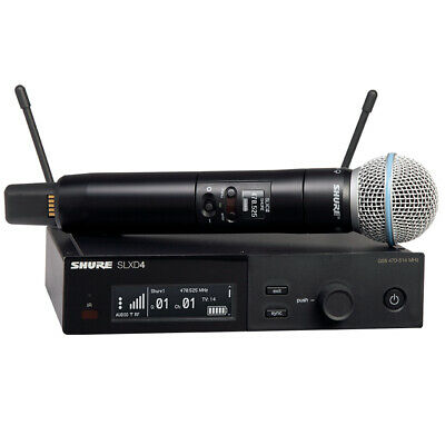 £539.53 • Buy Shure SLXD24/B58 Wireless System With Beta 58A Handheld Microphone (Freq. H55)