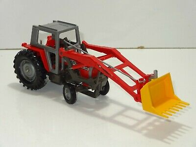 £40 • Buy Britains MASSEY FERGUSON 595 TRACTOR WITH FRONT SHOVEL (322)