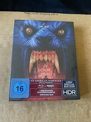 £74.99 • Buy An American Werewolf In London 4k Uhd 3 Disc Special Edition - German Import New