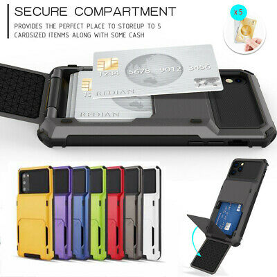 £1.99 • Buy For Huawei P20 30 40 Pro Protective Armour Hard Phone Case Cover With Card Slot