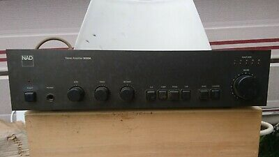 £150 • Buy NAD 3020 Series Amplifier, Black, Hardly Used, Being Sold Due To Bereavement