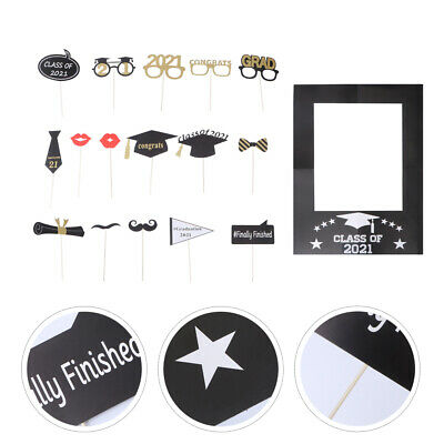 $13.68 • Buy 18pcs Durable  Novel Photo Props  Party Supplies For Home  Party  School