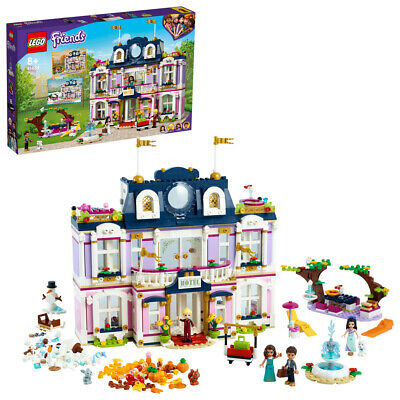 £86.99 • Buy Lego 41684 Friends Heartlake City Grand Hotel Building Set 1308 Pieces 7+ Years