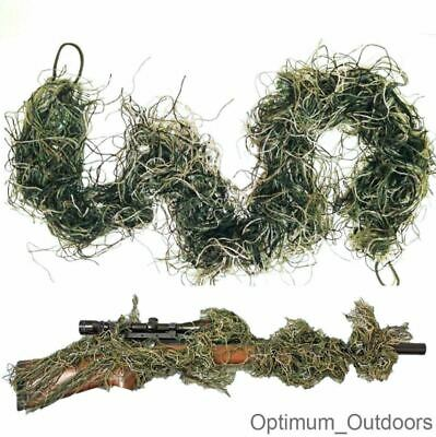 £8.75 • Buy Rifle Rag Ghillie 3d Camouflage Cover Bow Wrap Sniper Airsoft Paintball Yowie UK