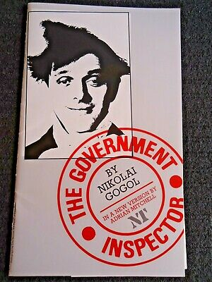£14.30 • Buy The Oliver Theatre Program  - The Government Inspector - Jim Broadbent