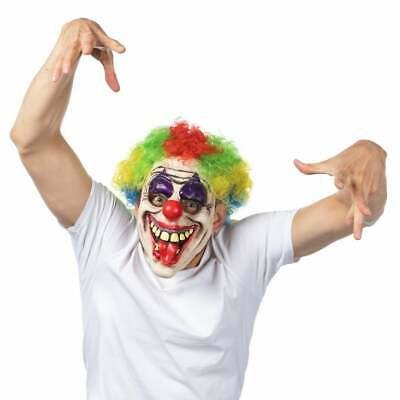 £12.99 • Buy Scary Clown Latex Mask Halloween Costume Fancy Dress Funny Circus
