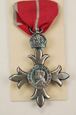 £25 • Buy Mbe Knighthood Medal Order Of The British Empire Chivalry Military Honour