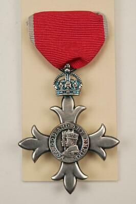 £25 • Buy Mbe Knighthood Medal Order Of The British Empire Chivalry Civil Honour