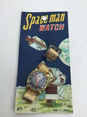 £24.99 • Buy Vintage Space Astronaut Watch Toy Made In Japan 1969s 70s,carded,,