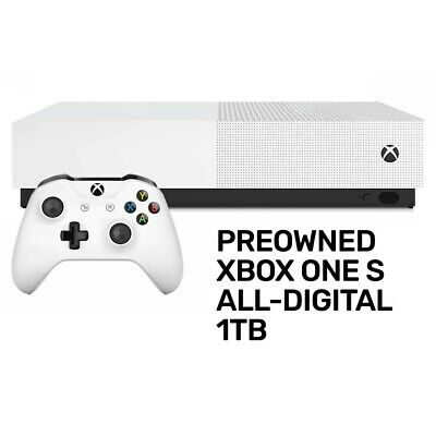 AU298 • Buy Xbox One S 1TB All-Digital Edition Console Preowned - Xbox One - PREOWNED
