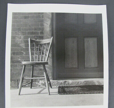 $ CDN11.54 • Buy Vintage DOROTHEA LANGE Attributed Photograph Chair At The Door Yqz