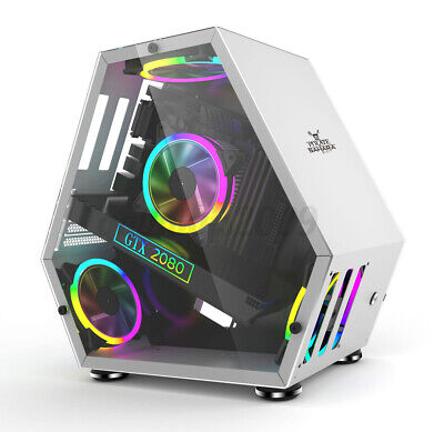 AU119.89 • Buy Sahara Monster Computer Gaming Case M-ATX/ ITX Desktop Chassis Competitive