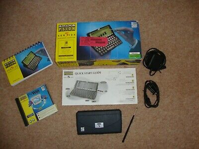 £52.95 • Buy Psion Series 5 PDA, In VG Condition Boxed, + Software, Manual & PSU
