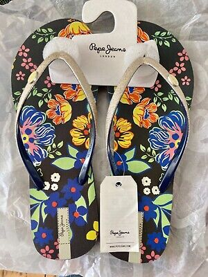 £7 • Buy New Boxed Pepe Jeans Flip Flop Sandals Size 7