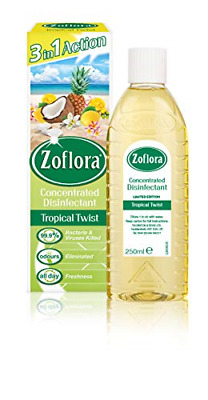 £4.21 • Buy Zoflora Tropical Twist 250ml, Concentrated Disinfectant, All Purpose Cleaner, Of