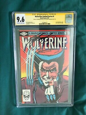 £636.48 • Buy 9.6 CGC 2 SIGNED Frank MILLER Chris CLAREMONT WOLVERINE 1 Limited Series 1982 Nm