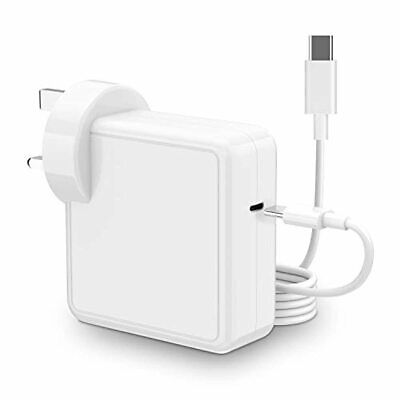 $58.40 • Buy USB C Charger Compatible With Mac Book Pro/Air With Cable (2M) 61W Power Adapter