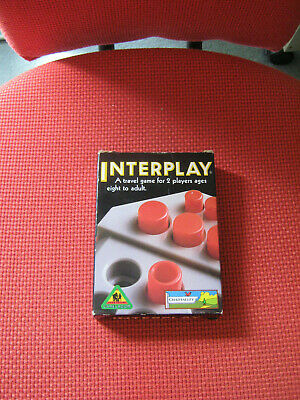 £5 • Buy INTERPLAY Travel Game, Chad Valley Toys, New