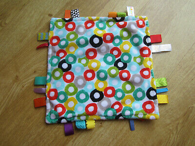 £2.25 • Buy Bright Starts Taggies  Circles Comforter Blanket  Soft Toy **please Read Details