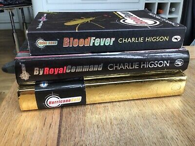 £5 • Buy Charlie Higson Books-Blood Fever,by Royal Command, HurricaneGold