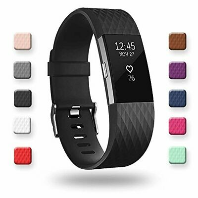 AU31.77 • Buy Adepoy Replacement Sport Strap Band Compatible For Fitbit Charge 2, Adjustable A