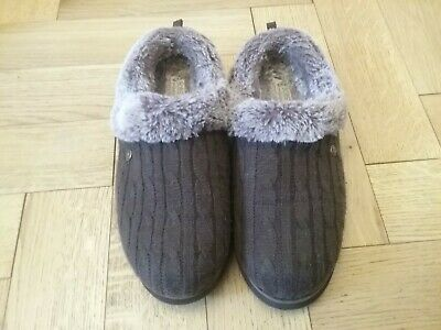 £7.60 • Buy Bobs From Sketchers Fur Lined Brown  Ladies Slippers UK Adult Size 7