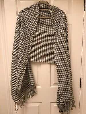 £5.99 • Buy Hounds Tooth Women Winter Scarf 220cm/60cm 30% Cashmere