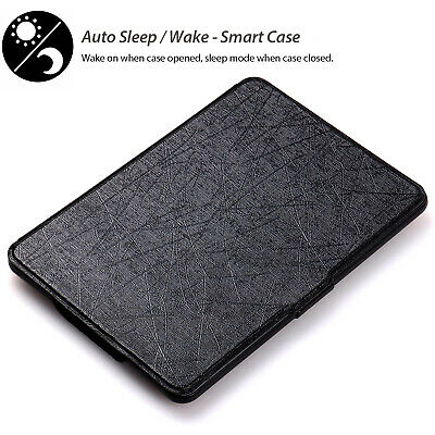AU7.99 • Buy For Amazon Kindle Paperwhite Case Waterproof Thin Light E-Reader Cover Protector