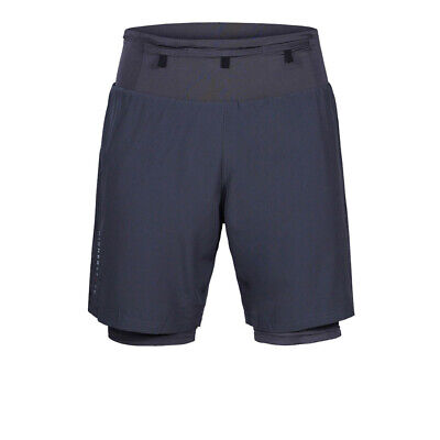 £21.99 • Buy Higher State Mens Trail Shorts Pants Trousers Bottoms Navy Blue Sports Running