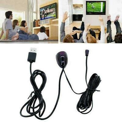 £3.24 • Buy Infrared USB Remote Control Receiver Extender Repeater Adapter L6C0 Black L1Q4